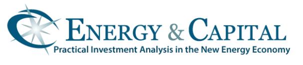 Energy & Capital
