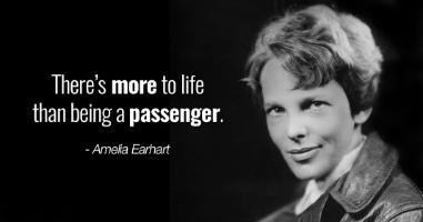 Amelia Earhart - quote