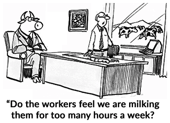 Do the Workers feel Milked