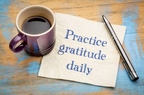 Practice Gratitude Daily reminder