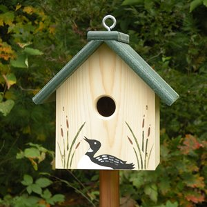 Hanging Bird Box House