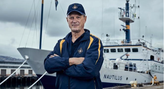 Robert Ballard, finds things