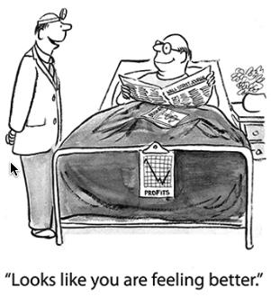 Feeling much better!