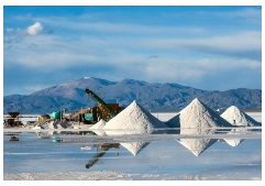 Piles of what 'looks like' salt
