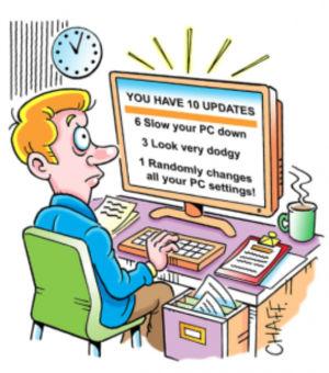 E_mail updates