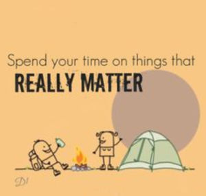 Things that really matter
