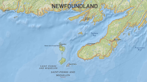 Saint-Pierre & Miquelon (map)