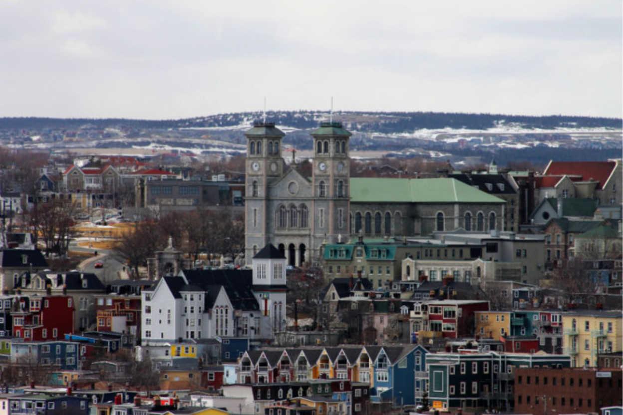 St. John's, Newfoundland winter