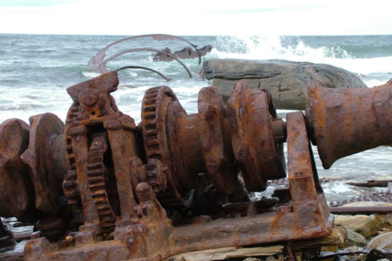 Remains of the SS Ethie